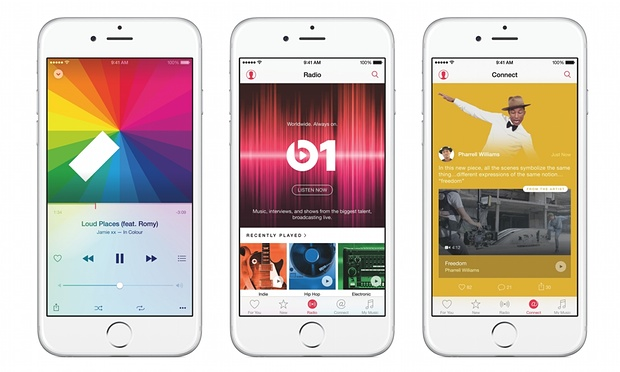 apple music streaming smartphone appli foodzik