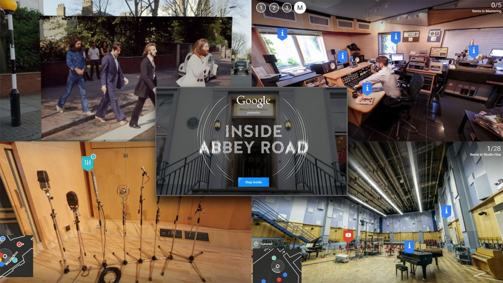 visiter abbey road VR foodzik
