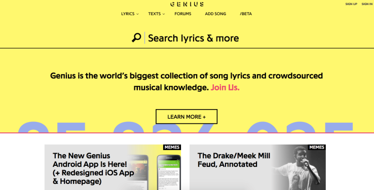 new-genius-site